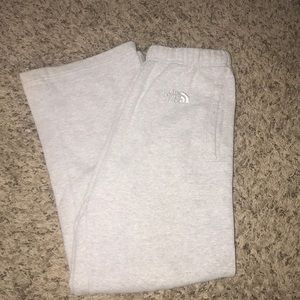 North Face sweatpants size small (men's)